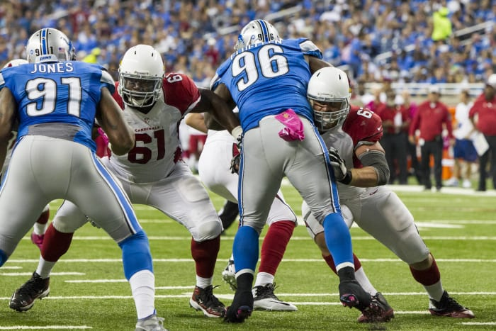 Arizona Cardinals, right side of the O-line