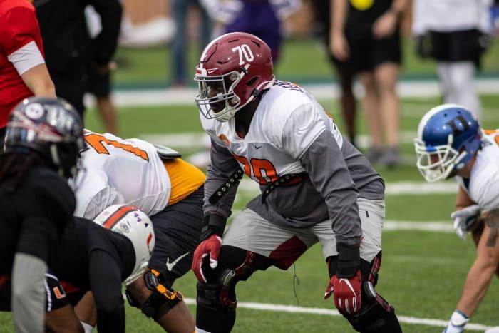 Denver Broncos: Alex Leatherwood, OT, Alabama