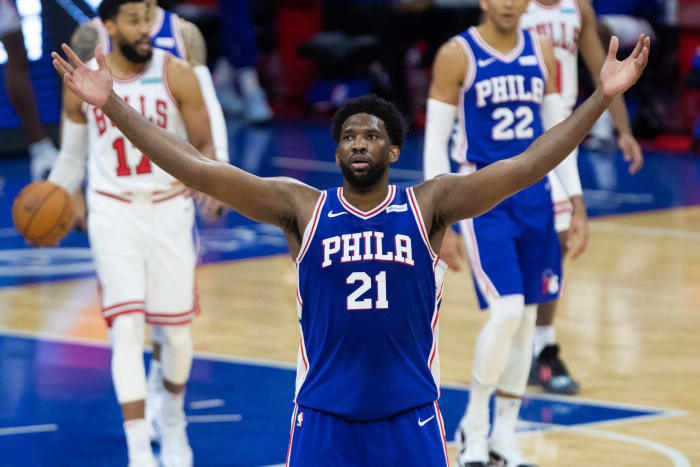 1) Most Valuable Player: Joel Embiid, Philadelphia 76ers