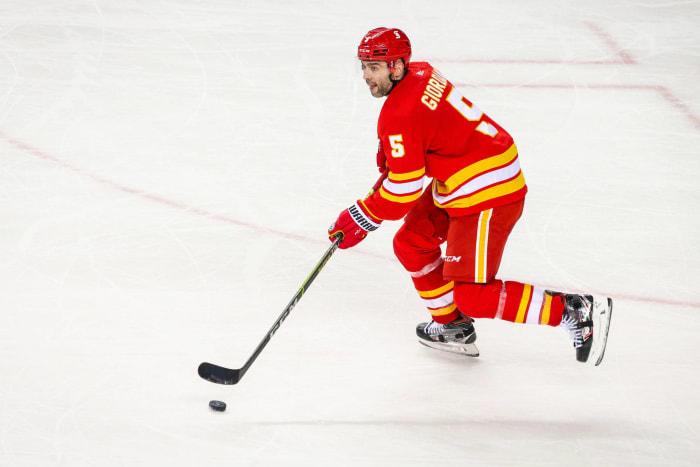 Defense: Mark Giordano (Calgary Flames)