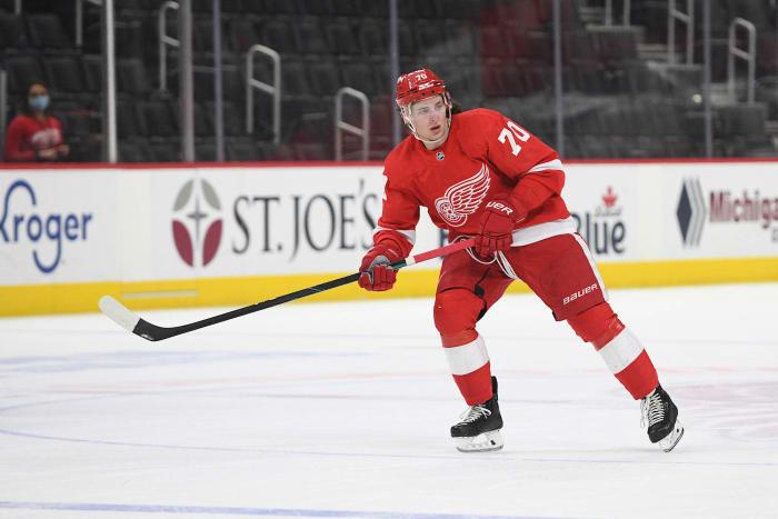 Defense: Troy Stecher (Detroit Red Wings)