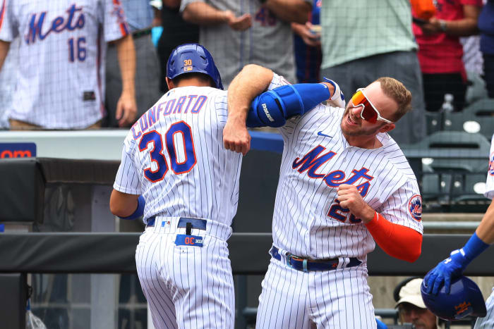 The Mets hanging on to first place with a comical amount of injuries
