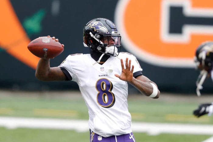 Underpaid quarterback: Lamar Jackson, Ravens
