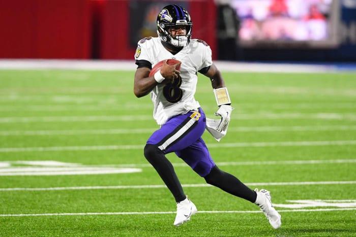 Lamar Jackson, QB, Ravens