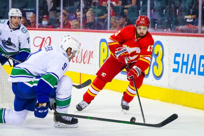 Johnny Goudreau and Calgary Flames