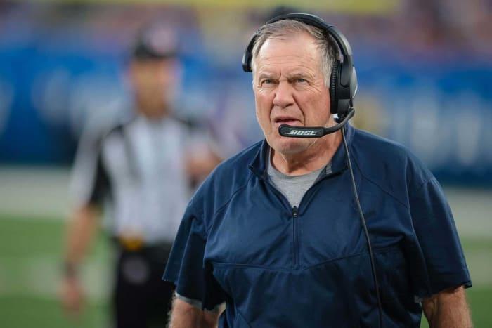 Bill Belichick, Patriots head coach
