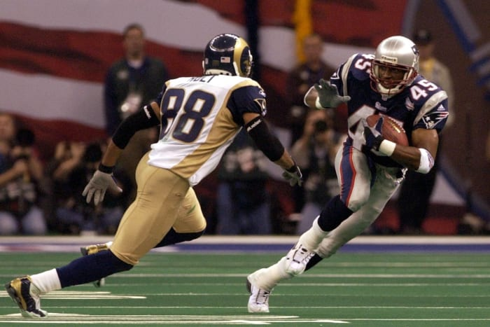 Otis Smith, New England Patriots