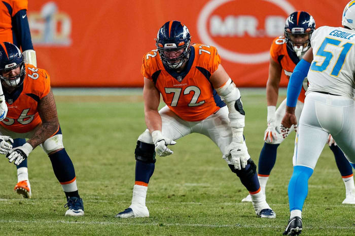 Underpaid offensive tackle: Garett Bolles, Broncos