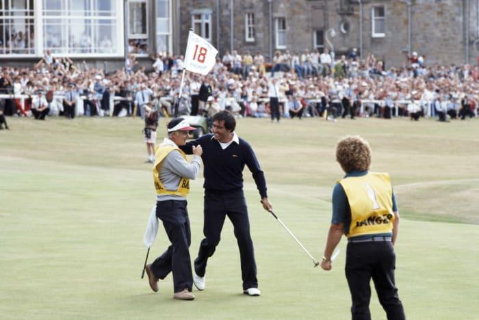 Seve Ballesteros, 1984 Open Championship