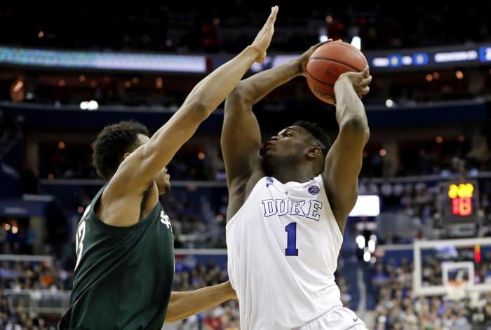 Zion Williamson   Duke   6-7