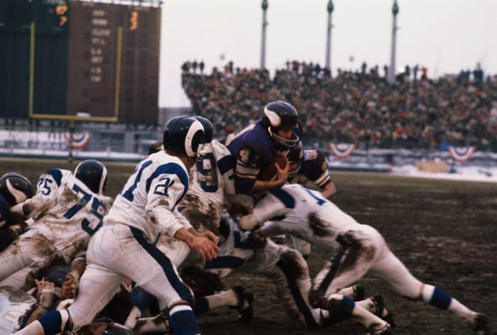 Rams at Vikings, 1969 NFL Western Conference championship