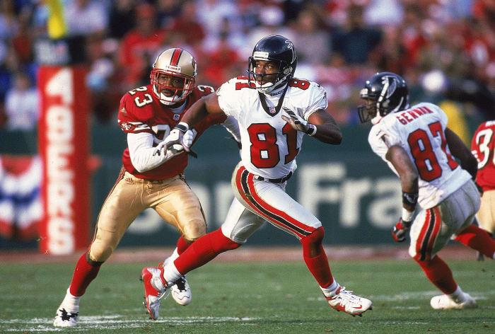 Terance Mathis, Atlanta Falcons; 1994