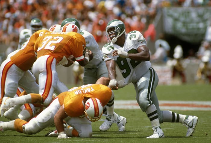 Clyde Simmons and Reggie White (feat. Jerome Brown)