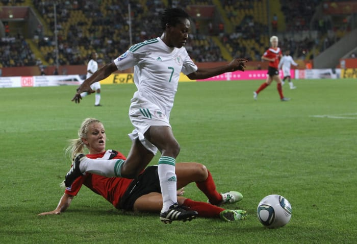 2011: Nigeria beats Canada
