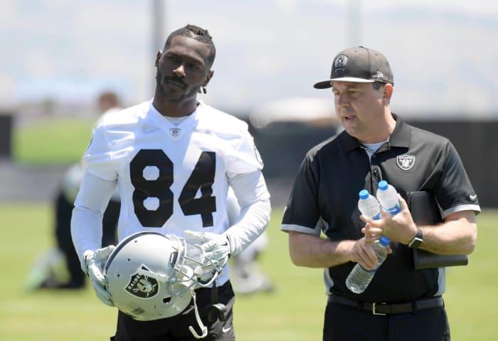 Steelers send Antonio Brown to Raiders, dismantle 'Killer B's'
