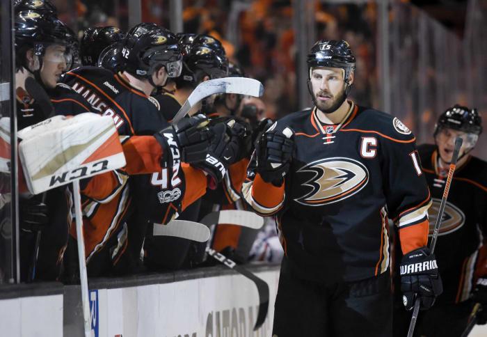 Anaheim Ducks: Ryan Getzlaf (15)