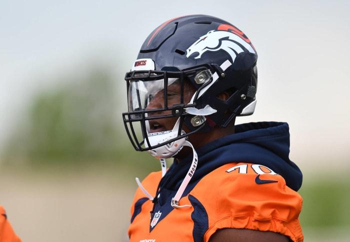 Denver Broncos, right tackle