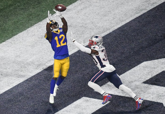 Two teams trade first-rounders for Brandin Cooks