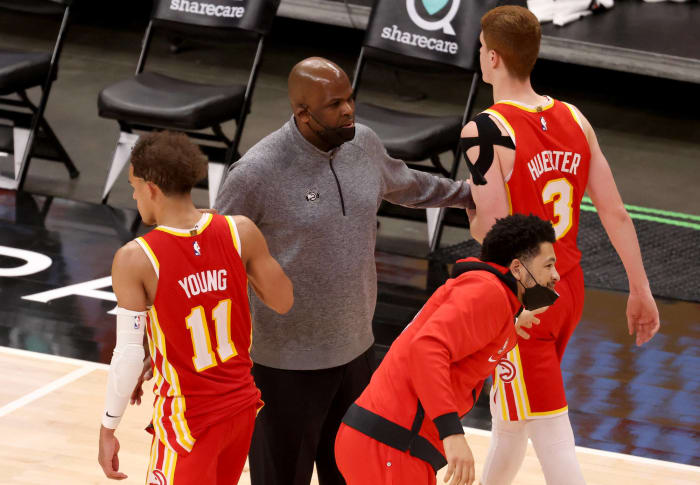 The Hawks are 23-11 under Nate McMillan