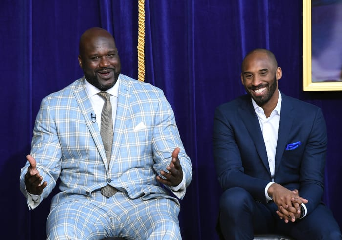 Kobe officially buries the hatchet with Shaq