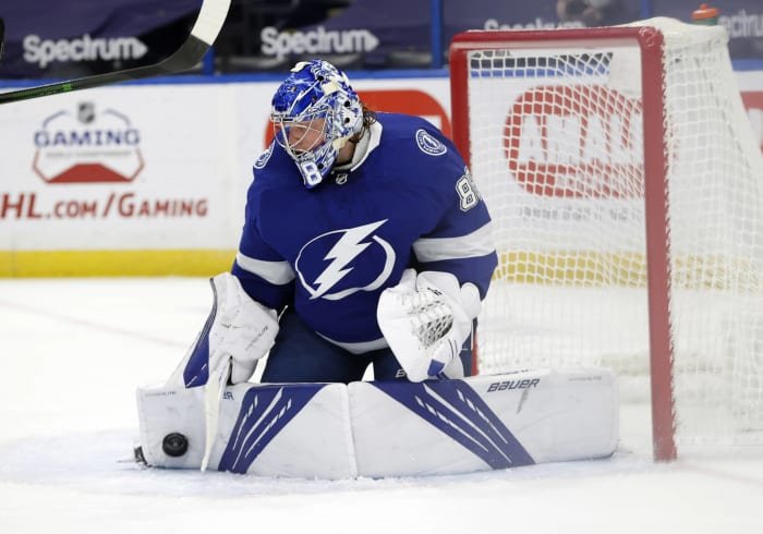 Vezina Trophy: Andrei Vasilevskiy, Tampa Bay Lightning