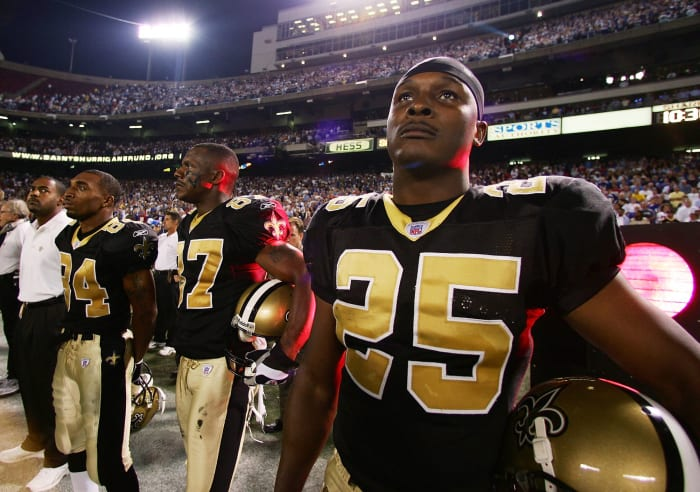 Fred McAfee, New Orleans Saints