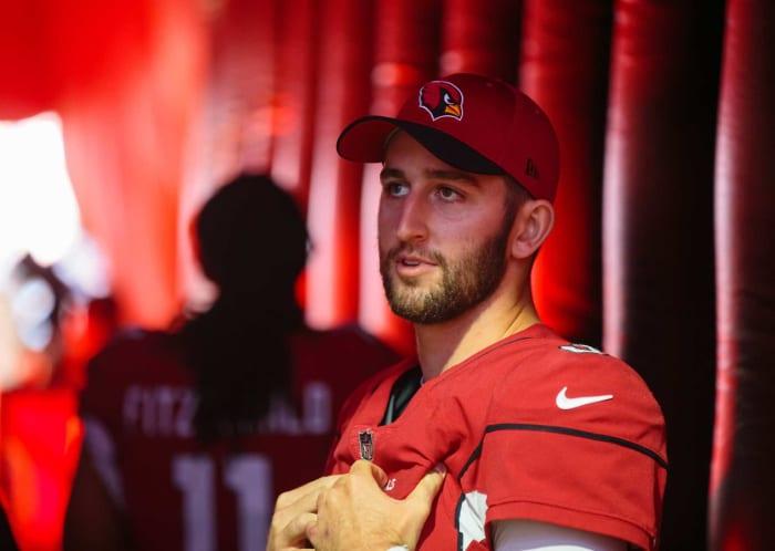 Arizona Cardinals: traded QB Josh Rosen for second- and fifth-round picks
