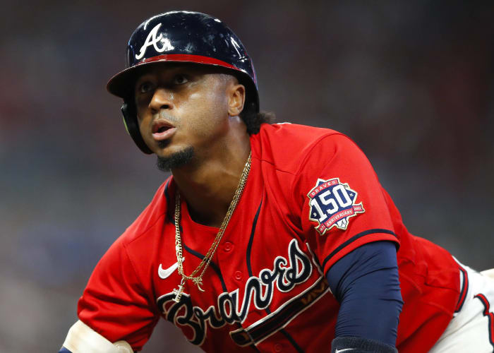 The Braves reaching the break with a losing record