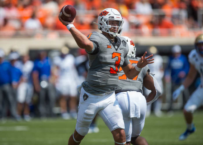 Oklahoma State (2-0) at Boise State (1-1), 9 p.m., Saturday, FS1