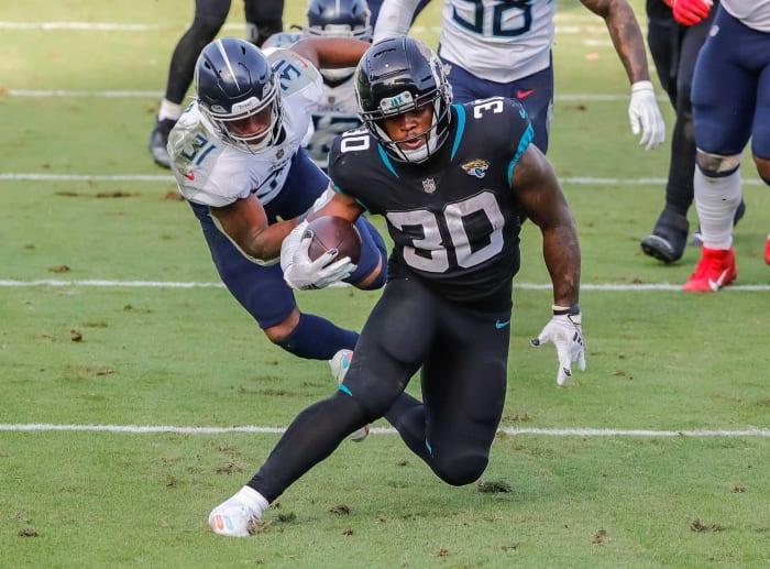 Underpaid running back: James Robinson, Jaguars