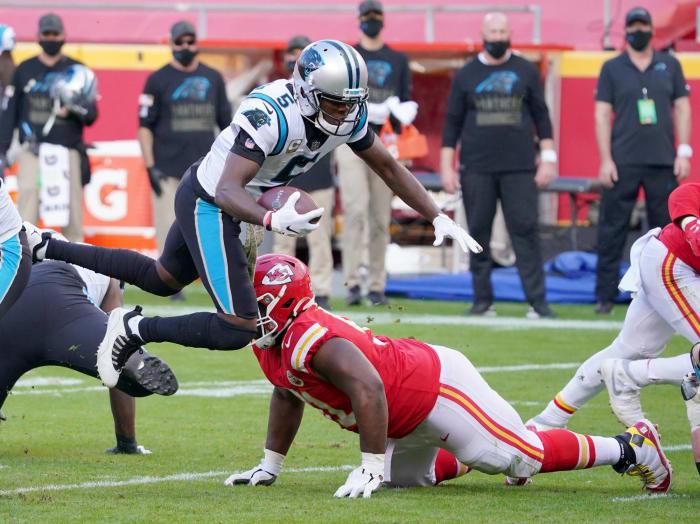 Carolina Panthers, quarterback