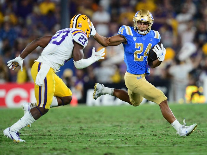 Fresno State (2-1) at No. 13 UCLA (2-0), 10:45 p.m., Saturday, Pac-12 Network
