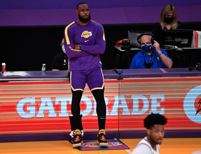 The defending Western Conference Champion LA Lakers are the six-seed