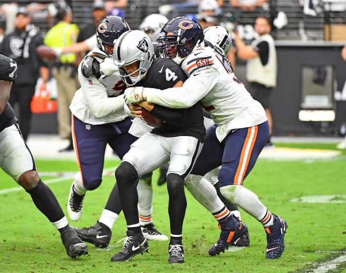 Khalil Mack extends Raiders' bad week