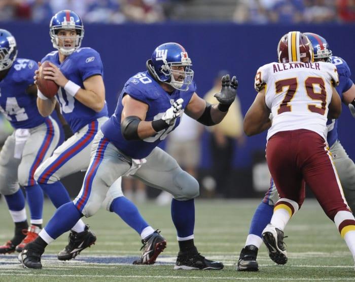 Shaun O'Hara, New York Giants; 2004