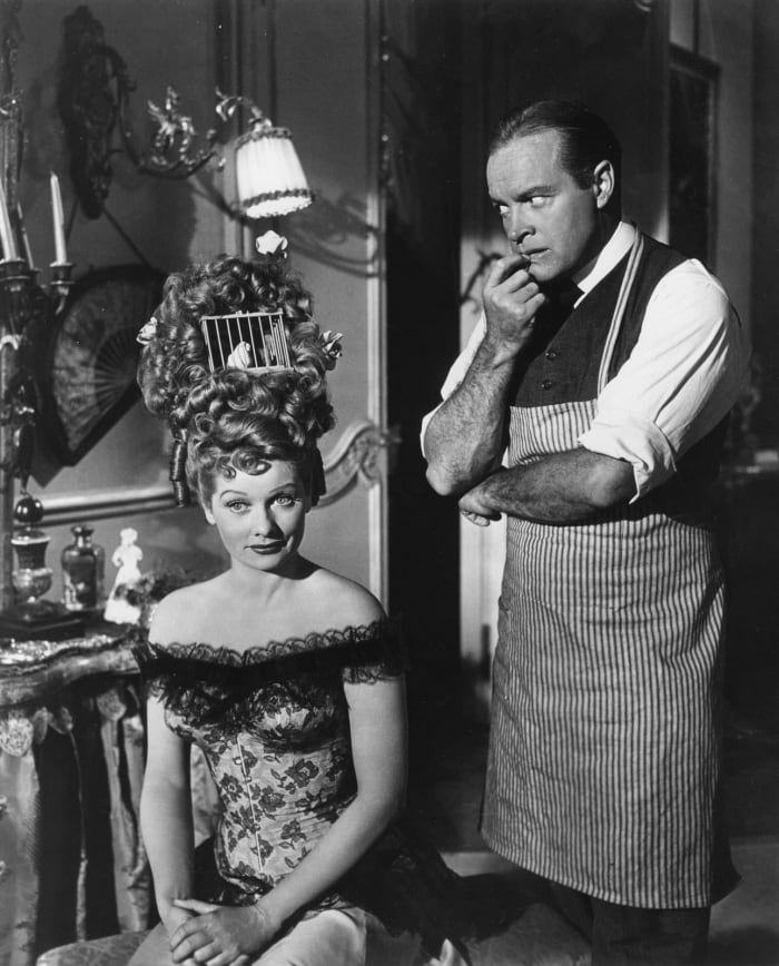 Lucille Ball and Bob Hope