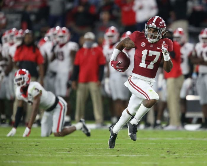 Alabama WR Jaylen Waddle | Comp: Santana Moss