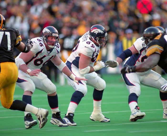 Mark Schlereth, Denver Broncos; 1995