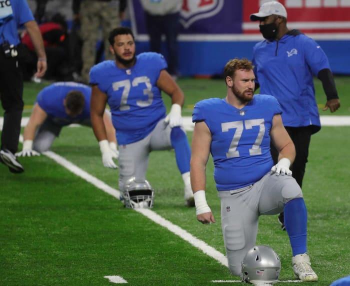 Detroit Lions: Frank Ragnow, OC