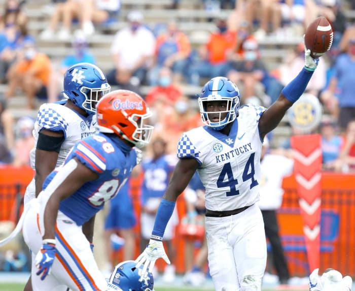 No. 19 | Washington: Kentucky LB Jamin Davis