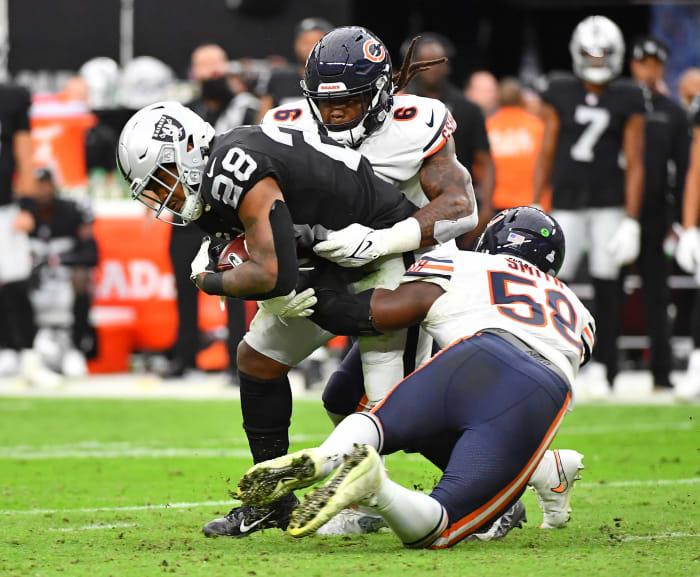 Raiders' ground formula falling short