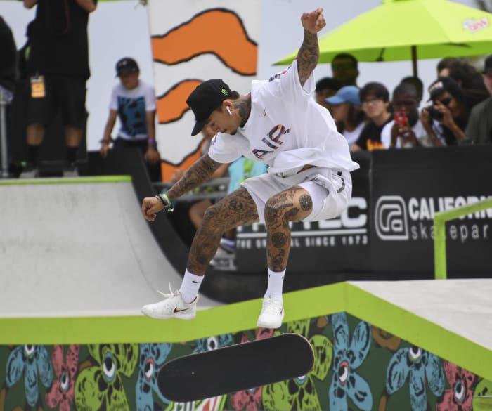 Nyjah Huston (men's skateboarding)