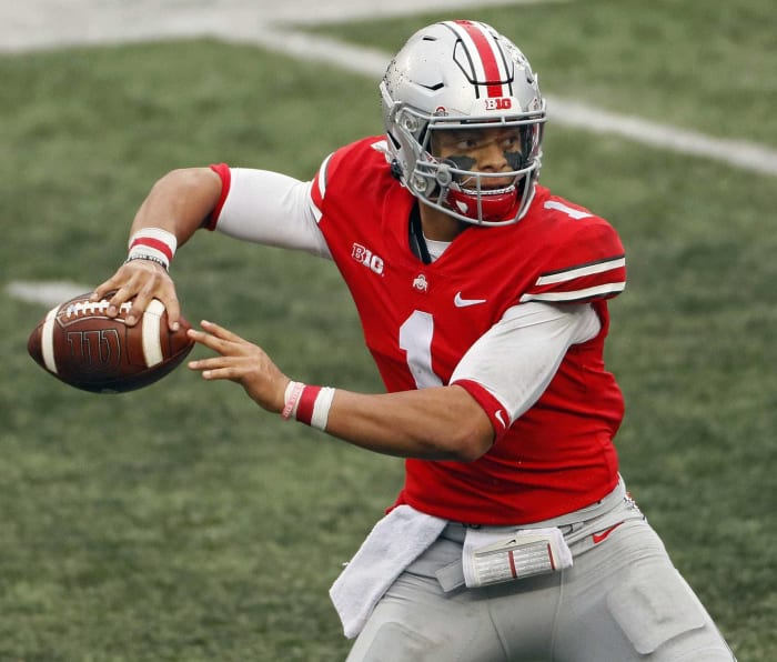 No. 11 | Bears: Ohio State QB Justin Fields