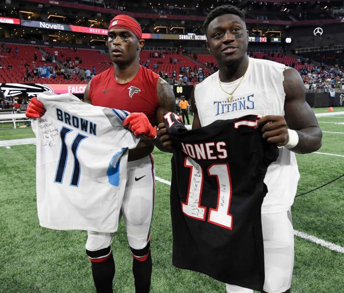 Cap issues force Falcons to end Julio Jones era
