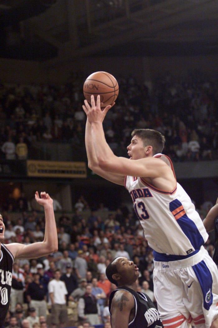 Miller drives Gators past Butler (2000)