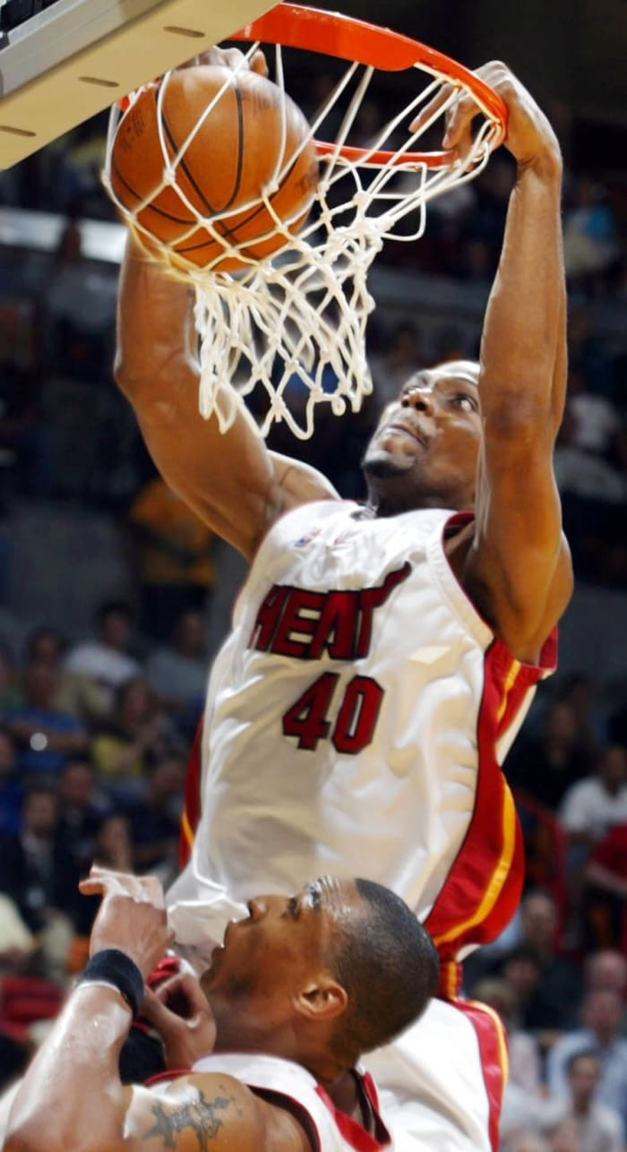 New Orleans Hornets - Udonis Haslem (undrafted)