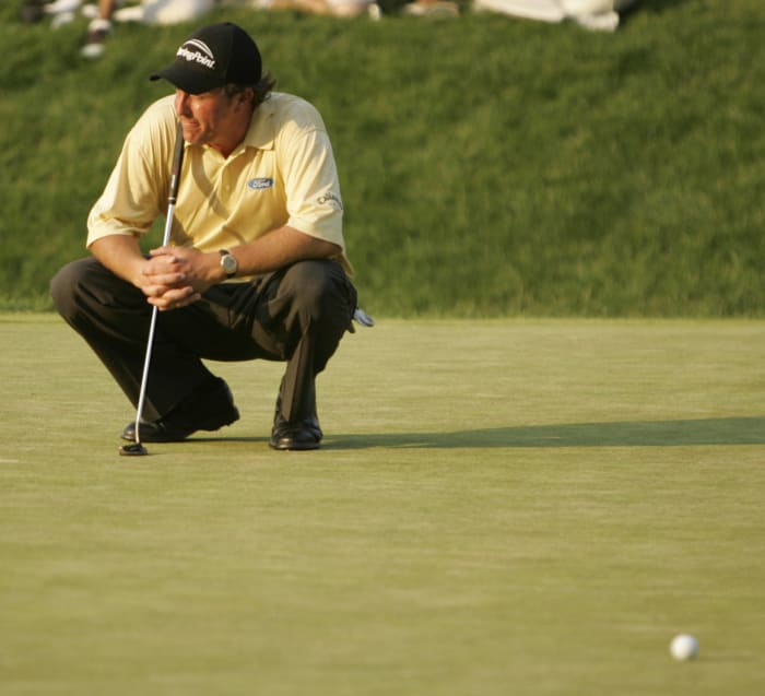 Wounded at Winged Foot