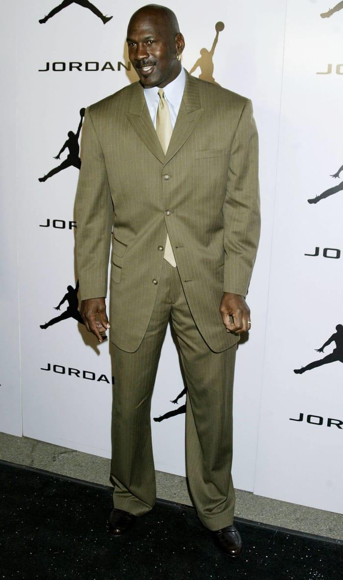 MJ the fashion plate