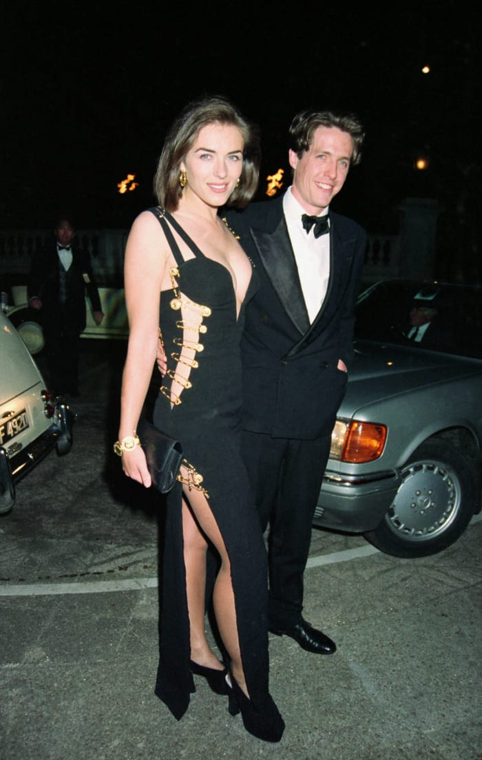 1994: Elizabeth Hurley in Versace