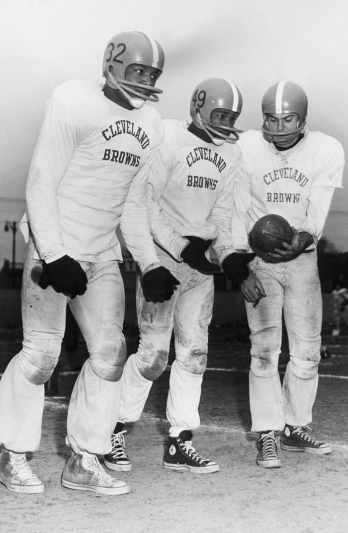 Cleveland Browns: two-Hall of Famer backfield